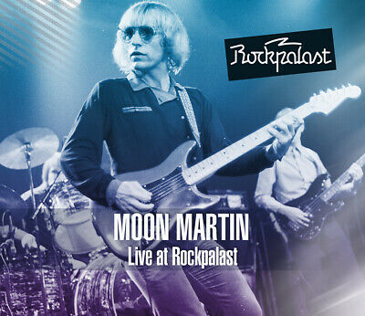 Moon Martin: Live At Rockpalast, Hamburg 1981: 2CD+1DVD REPUK1276