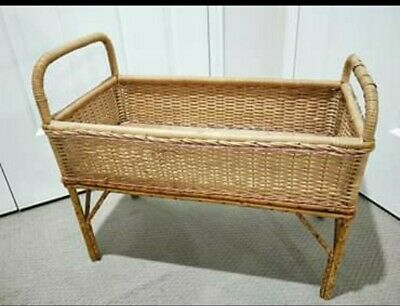 Antique 1960's toy dolls cot. Beautiful condition.