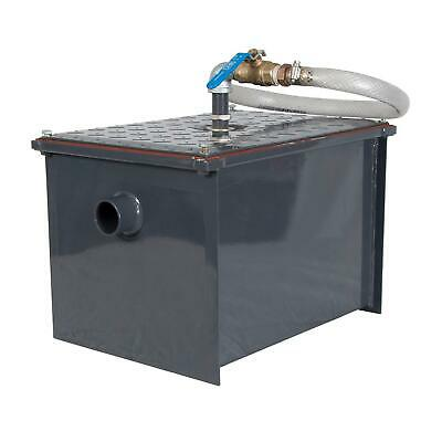 BK Resources BK-SGI-8 8 lb Semi-Automatic Grease Interceptor w/ Drawoff