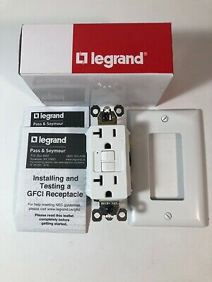 NEW* Legrand 2097TRWRW Tamper & Weather Resistant 20A WHITE