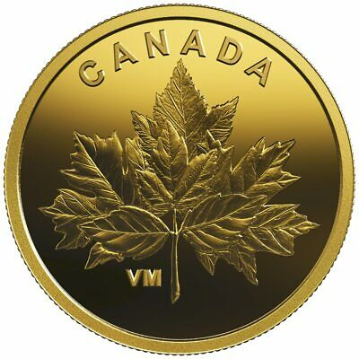 2019 25-Cent Pure Gold Coin Bouquet Of Maple Leaves