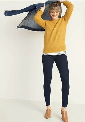 NWT Old Navy Petite Womens Blue Super Skinny Pullon Jeggings Size 10 & 12 Petite