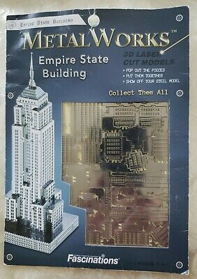 Fascinations Metal Earth Chrysler Building ICONX New York Collectible 3D Model