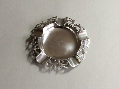 Filigree English Victorian Antique Solid Sterling Silver By WC