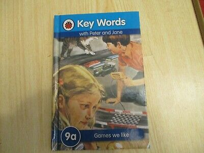 LADYBIRD BOOK KEY WORDS WITH PETER AND JANE 9a Games We Like