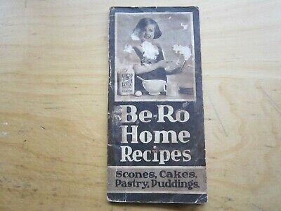 Rare vintage Be-Ro Home Recipes Baking Cook book ninth edition 9th early 1920
