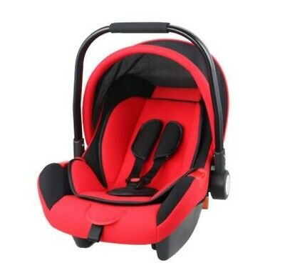D147 Red Baby Carrier Moses Basket Bassinet Waffle Bedding