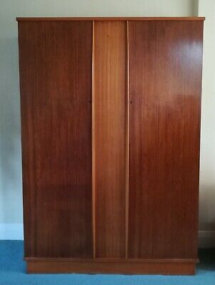 Double Wardrobe, wood, Mid Century, 1960s, Finewood of Slough
