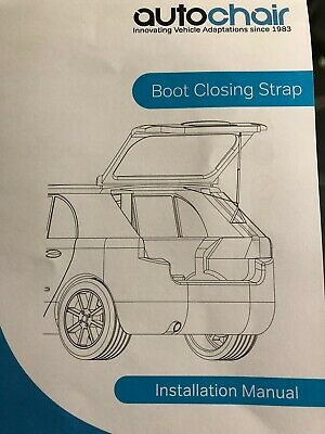 Autochair Boot Closing Strap