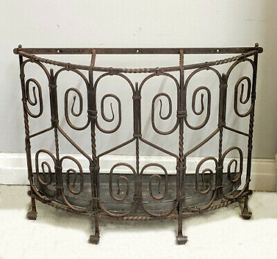 Old French Wrought Iron Stick Stand