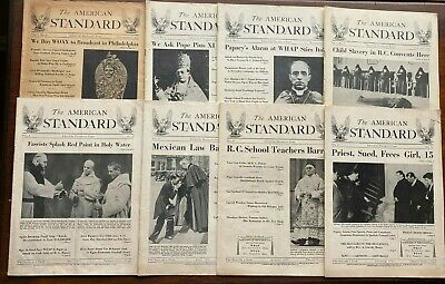 🍊Antique Lot of 8 The American Standard Edited by Franklin Ford from 1930-1931