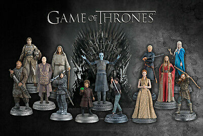 NEW Eaglemoss Game Of Thrones Figurine Collection ALL ISSUES! (Read Discription)