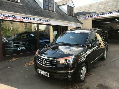 2016 (16) Ssangyong Turismo 2.2TD SE ONLY 21,000 MILES