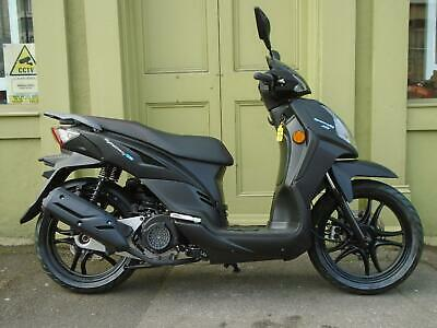 Sym Symphony SR125 Scooter With Big Wheels and 5 Year Warranty 01634 811757