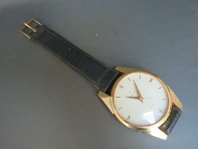 Vintage Towncraft wall clock large watch with strap for restoration