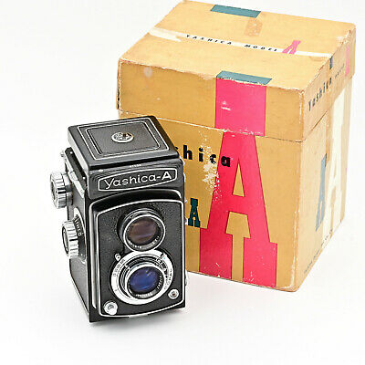 Yashica A 120 6x6 TLR Twin Lens Reflex Film Camera ***MINT IN BOX***