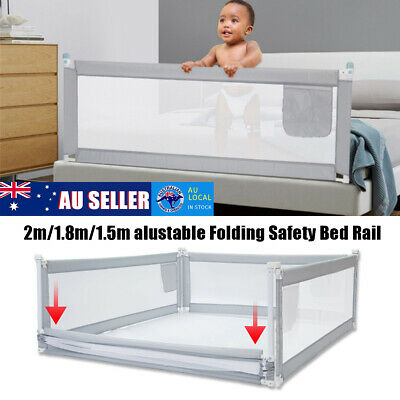 🔥 Adjustable Folding Safety Bed Rail/BedRail Cot Guard Protecte Childs Toddler