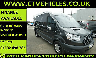 2018 68 plate Ford Transit 2.0TDCi 130PS EURO6 RWD 350 L3H2 trend A/C