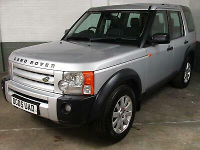 Mar 2005 LAND ROVER DISCOVERY 3 2.7 TDV6 AUTO SE SAT.NAV Elec.Htd.LEATHER 7 Seat