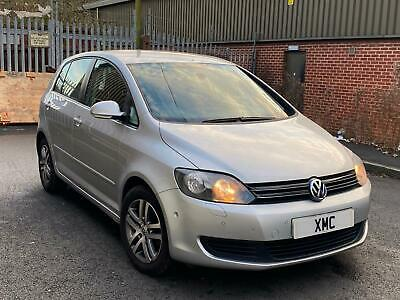 2010 Volkswagen Golf Plus 1.6 Tdi Bluemotion Tech Match Auto Dsg Silver Fsh