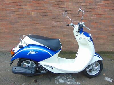 2016(66) Sym Mio 50Cc Learner Legal Scooter Moped Classic