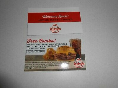 Lot of 50 Combo Meal Cards