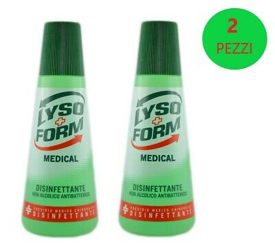 LYSOFORM MEDICAL DISINFETTANTE ANTIBATTERICO - 2 CONFEZIONI da 250ml