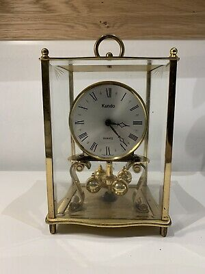 Kundo lantern shaped 400 day anniversary clock mantel clock Kieninger Oberfell