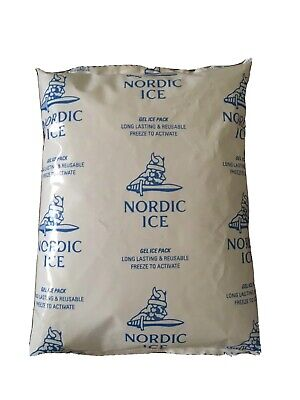 Nordic Ice Gel Packs 24oz. - Lot of 18- BIG Reusable 24oz Gel Packs. NO SWEAT