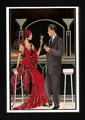 A4 Unframed Art Deco Style 1920s 1930s Home Decor Art Print Picture Item No A4/5