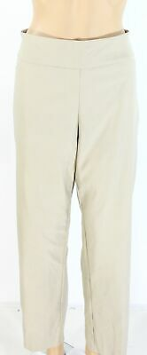 Charter Club Womens Pants Beige Size 20W Plus Pull On Tummy-Control $79 001