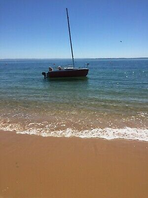 Trailer Sailor Sail Boat Good condition for its age ready to sail
