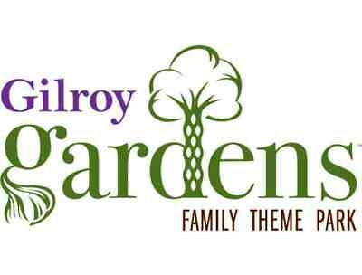 2 tickets Gilroy Gardens FREE SHIPPING