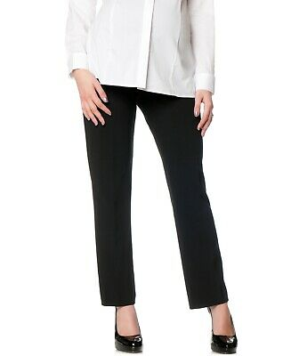 Motherhood Women's Dress Pants Black Size Small PS Petite Stretch $39 884