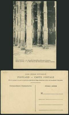 India Old Postcard The Hall of Thousand Columns, AJMERE