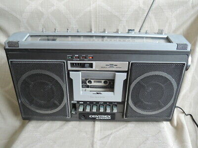 Vintage CENTREX by PIONEER SK-6 Boombox Ghetto Blaster