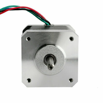 1PC Stepper Motor Nema17 0.5Nm flat shaft 4wires 1.5A 17HS4415-04 DIY 3D printer