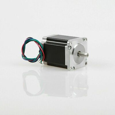 1PC NEMA23 Stepper Motor 1.25Nm 4A 2V 56mm length 23HS6440-13 flat shaft CNC KIT