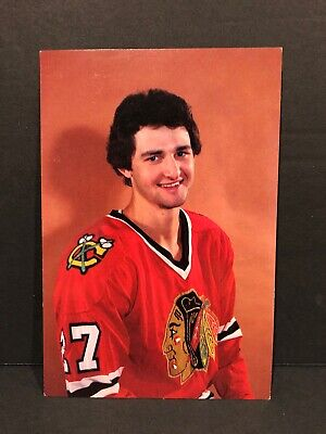 Darryl Sutter Chicago Blackhawks Vintage Postcard Hockey NHL Card VERY RARE!