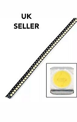 50pcs 3528 2835 LED 3V Leds for LED TV LG To Repair Backlight Strip + Guide