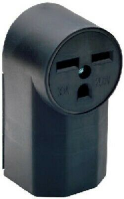 Pass & Seymour 30A, 250V, Black, Surface Mount Power Receptacle