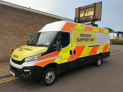Iveco Daily 2016 50C17 LWB Van Incident / Recovery Support Vehicle Highways