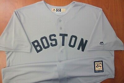 Youth Large 14-16 Majestic Mookie Betts Boston Red Sox MLB Youth White Home Cool Base Replica Jersey