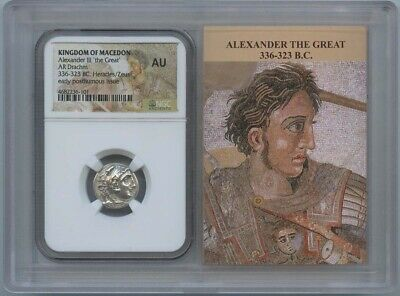 336-323 BC Alexander III The Great NGC AU Kingdom of Macedon Story Vault