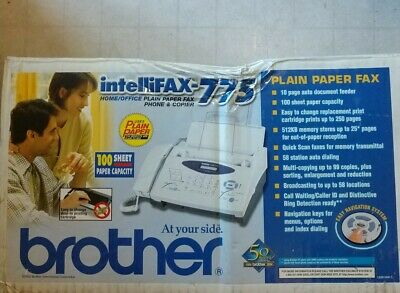 Brother Intellifax 775 Phone &  Copier