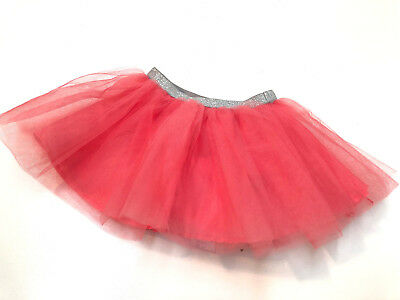 Gymboree Baby Girl Tulle Tutu 3 Layers Skirt & Diaper Cover-up Size 2T Costume