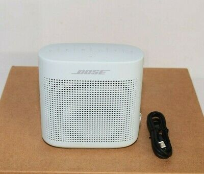 Bose SoundLink II Water-Resistant Color Portable Bluetooth Speaker White READ!!!