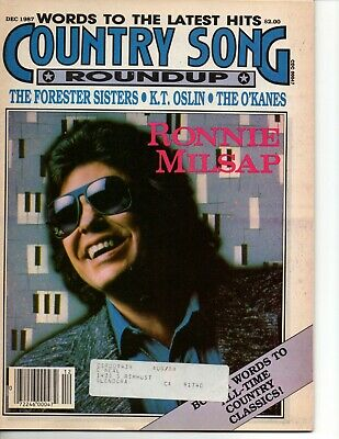 Country Song Roundup Magazine December 1987 Ronnie Milsap The Forester Sisters