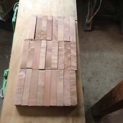 Featured Myrtle Pen Blanks cut to 140 mm Long Size 23 mm x 23 mm Approximately