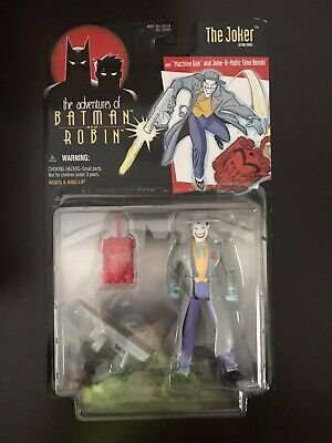 Batman /& Robin Adventures Series Machine Gun Joker With Time Bomb COMPLETE